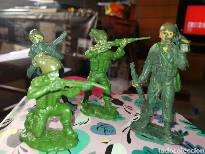 4 FIGURAS MITARES TEIXIDO (Juguetes - Figuras de Goma y Pvc - Teixido)