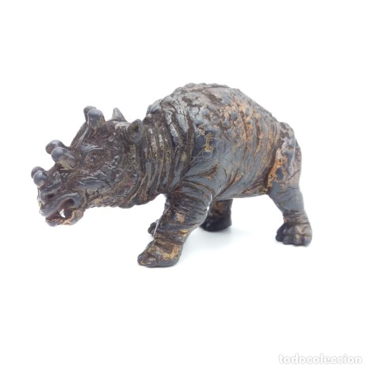 Figuras de Goma y PVC: Difícil Baluchiterio serie Dinosaurios de YOLANDA año 1989 - Baluchitherium, escaso, muy buen estado - Foto 2 - 181533105