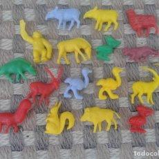 Figuras de Goma y PVC: LOTE DUNKIS ANIMALES. Lote 181757783