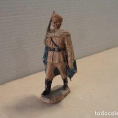 Figuras de Goma y PVC: FIGURA DE GOMA OFICIAL FUERZAS REGULARES PECH. Lote 181761021