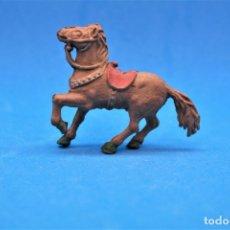 Figurines en Caoutchouc et PVC: ANTIGUA FIGURA DEL OESTE EN GOMA. ALCA CAPELL Y/O LAFREDO. AÑOS 50/60. Lote 181787270