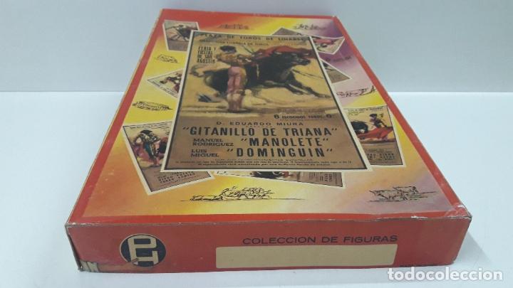 Figuras de Goma y PVC: CAJA ORIGINAL DE LA CORRIDA DE TOROS . REALIZADA POR PECH . AÑOS 60 - Foto 8 - 181887223