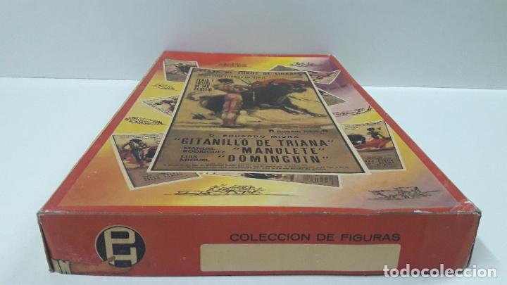 Figuras de Goma y PVC: CAJA ORIGINAL DE LA CORRIDA DE TOROS . REALIZADA POR PECH . AÑOS 60 - Foto 9 - 181887223