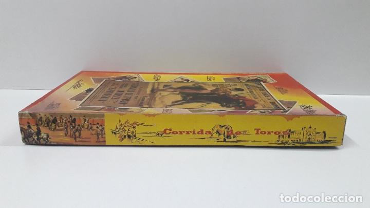 Figuras de Goma y PVC: CAJA ORIGINAL DE LA CORRIDA DE TOROS . REALIZADA POR PECH . AÑOS 60 - Foto 10 - 181887223