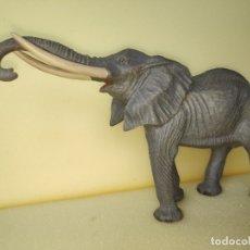 Figuras de Goma y PVC: MAGNÍFICO ELEFANTE AFRICANO LINEOL 1950 COMPATIBLE CON ARCLA. Lote 181906987