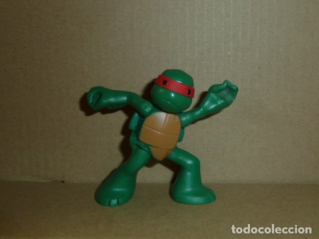 Figuras de Goma y PVC: Tortuga Ninja. Viacom 2013 - Foto 3 - 181969917