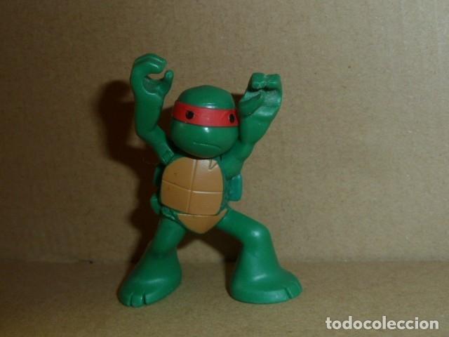 Figuras de Goma y PVC: Tortuga Ninja. Viacom 2013 - Foto 4 - 181969917