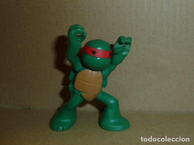 Figuras de Goma y PVC: Tortuga Ninja. Viacom 2013 - Foto 5 - 181969917