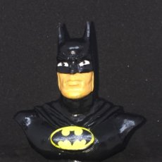 Figuras de Goma y PVC: FIGURA O MUÑECO GOMA PVC - BUSTO DE BATMAN - BULLY. Lote 181985708