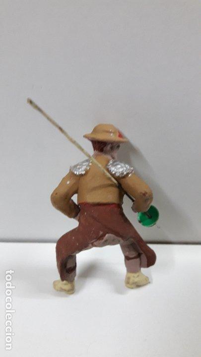Figuras de Goma y PVC: PICADOR PARA CABALLO . REALIZADO POR PECH . AÑOS 60 - Foto 2 - 182062180