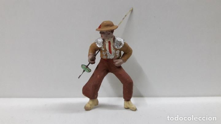 Figuras de Goma y PVC: PICADOR PARA CABALLO . REALIZADO POR PECH . AÑOS 60 - Foto 3 - 182062180
