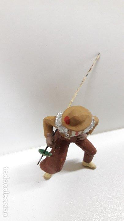 Figuras de Goma y PVC: PICADOR PARA CABALLO . REALIZADO POR PECH . AÑOS 60 - Foto 4 - 182062180