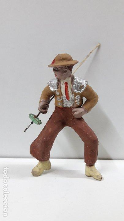PICADOR PARA CABALLO . REALIZADO POR PECH . AÑOS 60 (Juguetes - Figuras de Goma y Pvc - Pech)