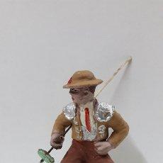 Figuras de Goma y PVC: PICADOR PARA CABALLO . REALIZADO POR PECH . AÑOS 60. Lote 182062180