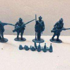 Figuras de Goma y PVC: HAT: GUERRA 7 AÑOS PRUSIANOS , REAMSA, JECSAN 1:32, 54 MM. Lote 182063722