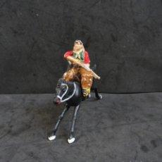 Figuras de Goma y PVC: REAMSA COWBOY CON CABALLO. Lote 182115610