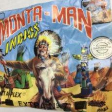 Figuras de Goma y PVC: MONTAPLEX - MONTA-MAN EXTRA 7 INDIOS. Lote 182147435