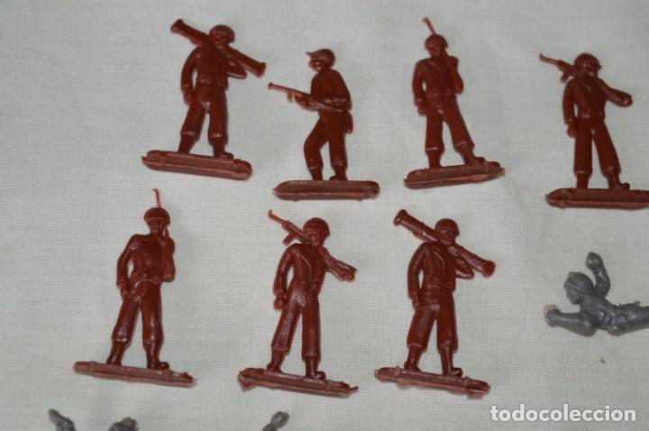 Figuras de Goma y PVC: VINTAGE - LOTE DE SOLDADITOS / FIGURITAS MONTAPLEX - MADE IN SPAIN - ¡Mira fotos! - Foto 2 - 182160920