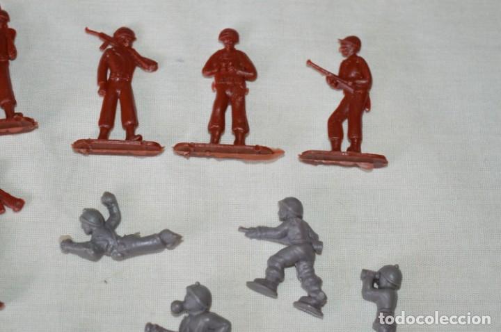 Figuras de Goma y PVC: VINTAGE - LOTE DE SOLDADITOS / FIGURITAS MONTAPLEX - MADE IN SPAIN - ¡Mira fotos! - Foto 3 - 182160920