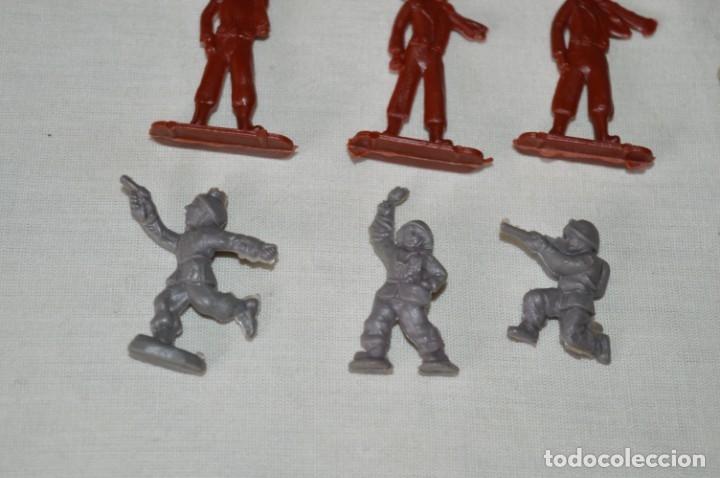 Figuras de Goma y PVC: VINTAGE - LOTE DE SOLDADITOS / FIGURITAS MONTAPLEX - MADE IN SPAIN - ¡Mira fotos! - Foto 4 - 182160920