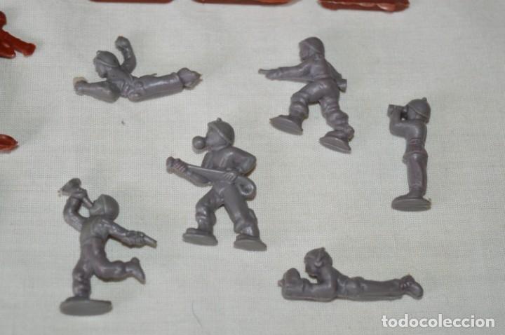 Figuras de Goma y PVC: VINTAGE - LOTE DE SOLDADITOS / FIGURITAS MONTAPLEX - MADE IN SPAIN - ¡Mira fotos! - Foto 5 - 182160920