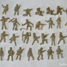 Figuras de Goma y PVC: LOTE DE FIGURAS / FIGURITAS VARIADAS DUNKIN SOLDADOS - CHICLES DUNKIN - VINTAGE - ¡MIRA FOTOS!. Lote 182162711