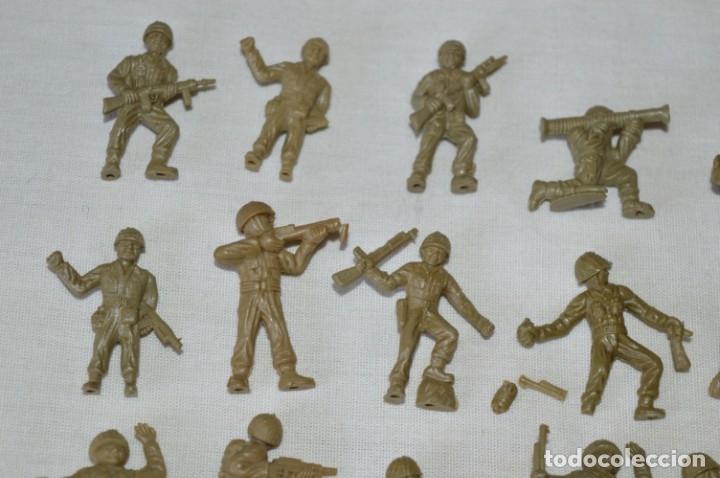 Figuras de Goma y PVC: LOTE DE FIGURAS / FIGURITAS VARIADAS DUNKIN SOLDADOS - CHICLES DUNKIN - VINTAGE - ¡Mira fotos! - Foto 2 - 182162711