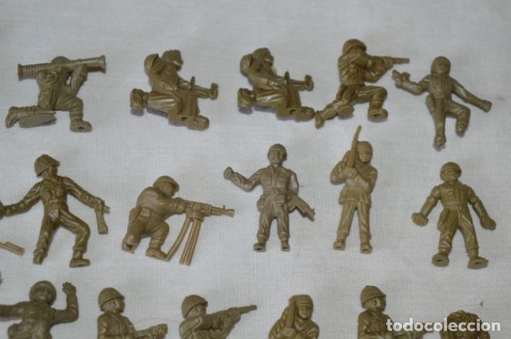 Figuras de Goma y PVC: LOTE DE FIGURAS / FIGURITAS VARIADAS DUNKIN SOLDADOS - CHICLES DUNKIN - VINTAGE - ¡Mira fotos! - Foto 3 - 182162711