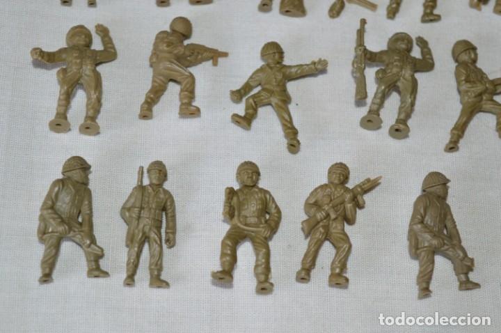 Figuras de Goma y PVC: LOTE DE FIGURAS / FIGURITAS VARIADAS DUNKIN SOLDADOS - CHICLES DUNKIN - VINTAGE - ¡Mira fotos! - Foto 4 - 182162711