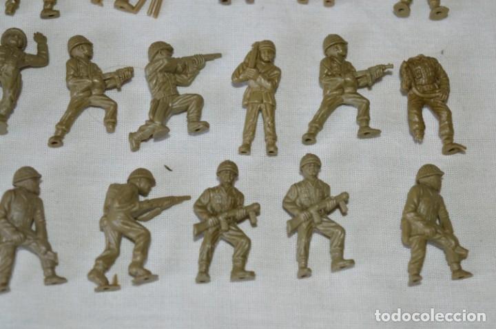 Figuras de Goma y PVC: LOTE DE FIGURAS / FIGURITAS VARIADAS DUNKIN SOLDADOS - CHICLES DUNKIN - VINTAGE - ¡Mira fotos! - Foto 5 - 182162711