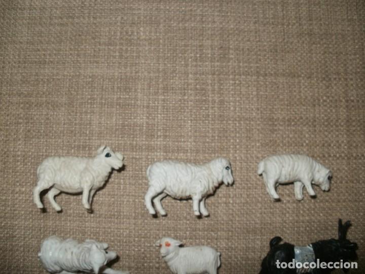 Figuras de Goma y PVC: LOTE DE ANIMALES DE GRANJA DE PLASTICO MADE IN HONG KONG - Foto 2 - 182276775