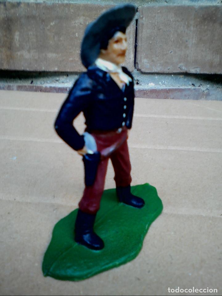 Figuras de Goma y PVC: FIGURA COWBOY VAQUERO REAMSA: ASALTO DILIGENCIA Y TREN FIGURA DE PLÁSTICO - Foto 3 - 182302901