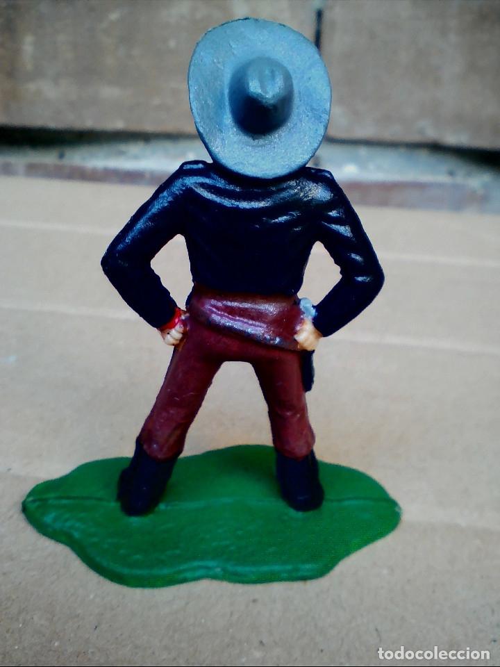 Figuras de Goma y PVC: FIGURA COWBOY VAQUERO REAMSA: ASALTO DILIGENCIA Y TREN FIGURA DE PLÁSTICO - Foto 5 - 182302901