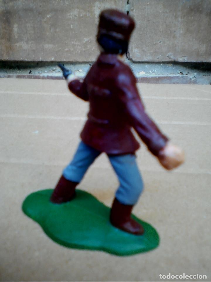 Figuras de Goma y PVC: FIGURA TRAMPERO CON REVOLVER REAMSA: POLICÍA MONTADA DEL CANADÁ DE PLÁSTICO - Foto 3 - 182349777
