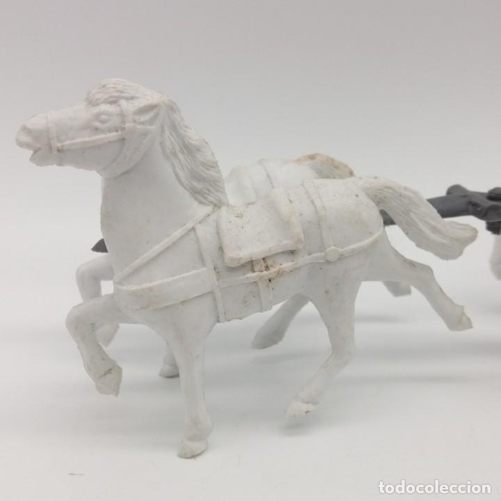 Figuras de Goma y PVC: Diligencia del oeste SOTORRES con caballos blancos - Foto 9 - 182433438