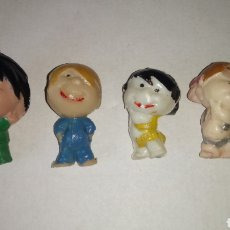 Figuras de Goma y PVC: FAMILIA TELERIN. CLEO, TETE Y COLETAS.. Lote 182444956