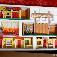 Figuras de Goma y PVC: TODO EL OESTE AMERICANO COMANSI, CON CAJA ORIGINAL. Lote 182479798