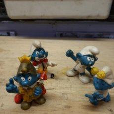 Figuras de Goma y PVC: PITUFOS. Lote 182490623