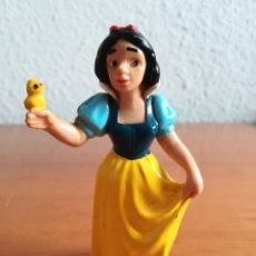 Figuras de Goma y PVC: FIGURA GOMA PVC BLANCANIEVES - DISNEY BULLY WEST GERMANY. Lote 182507360