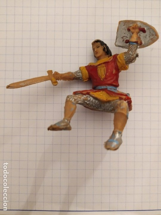 FIGURA ESTEREOPLAST EL CAPITAN TRUENO (Juguetes - Figuras de Goma y Pvc - Estereoplast)