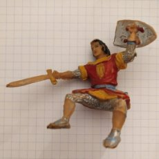 Figuras de Goma y PVC: FIGURA ESTEREOPLAST EL CAPITAN TRUENO. Lote 182525705