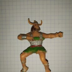 Figuras de Goma y PVC: FIGURA ESTEREOPLAST OLAFF CAPITAN TRUENO . Lote 182526633