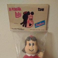 Figuras de Goma y PVC: PEQUEÑA LULU 1984 BERJUSA AÑOS 80 TVE LITTLE LULU PRECINTADO GOMA BLANDA PITO. Lote 182537326