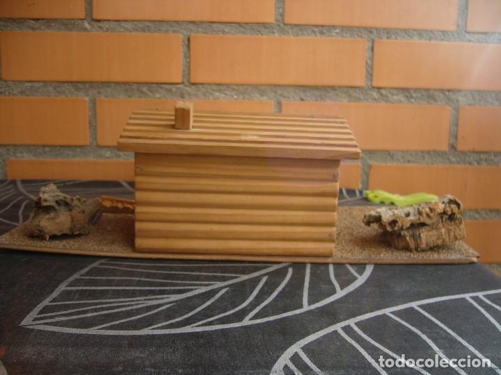 Figuras de Goma y PVC: CABAÑA SOBRE BASE TEIXIDO - Foto 3 - 182603068