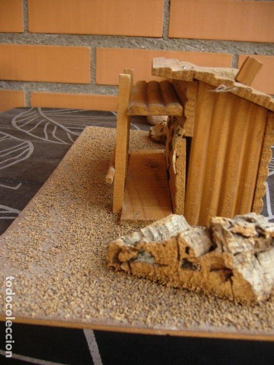 Figuras de Goma y PVC: CABAÑA SOBRE BASE TEIXIDO - Foto 4 - 182603068