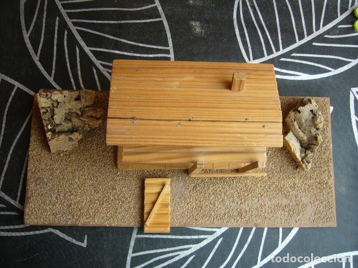 Figuras de Goma y PVC: CABAÑA SOBRE BASE TEIXIDO - Foto 9 - 182603068