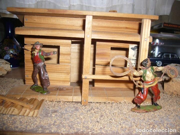 Figuras de Goma y PVC: CABAÑA SOBRE BASE TEIXIDO - Foto 10 - 182603068