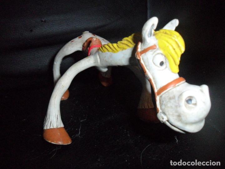 Figuras de Goma y PVC: JOLLY JUMPER - CABALLO DE LUCKY LUKE- FIGURA PVC ELASTICA - MARCA: COMICS SPAIN - Foto 2 - 182612990