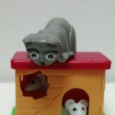 Figuras Kinder: KINDER FIGURA GATO Y RATONES . Lote 182653450