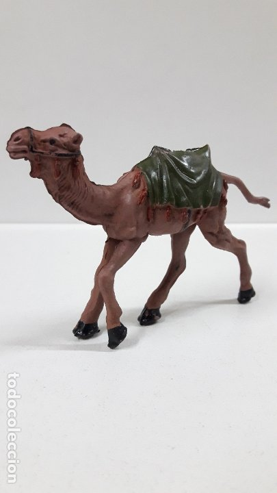 Figuras de Goma y PVC: CAMELLO . SERIE LAWRENCE DE ARABIA . REALIZADO POR REAMSA . AÑOS 50 EN GOMA - Foto 4 - 182660295